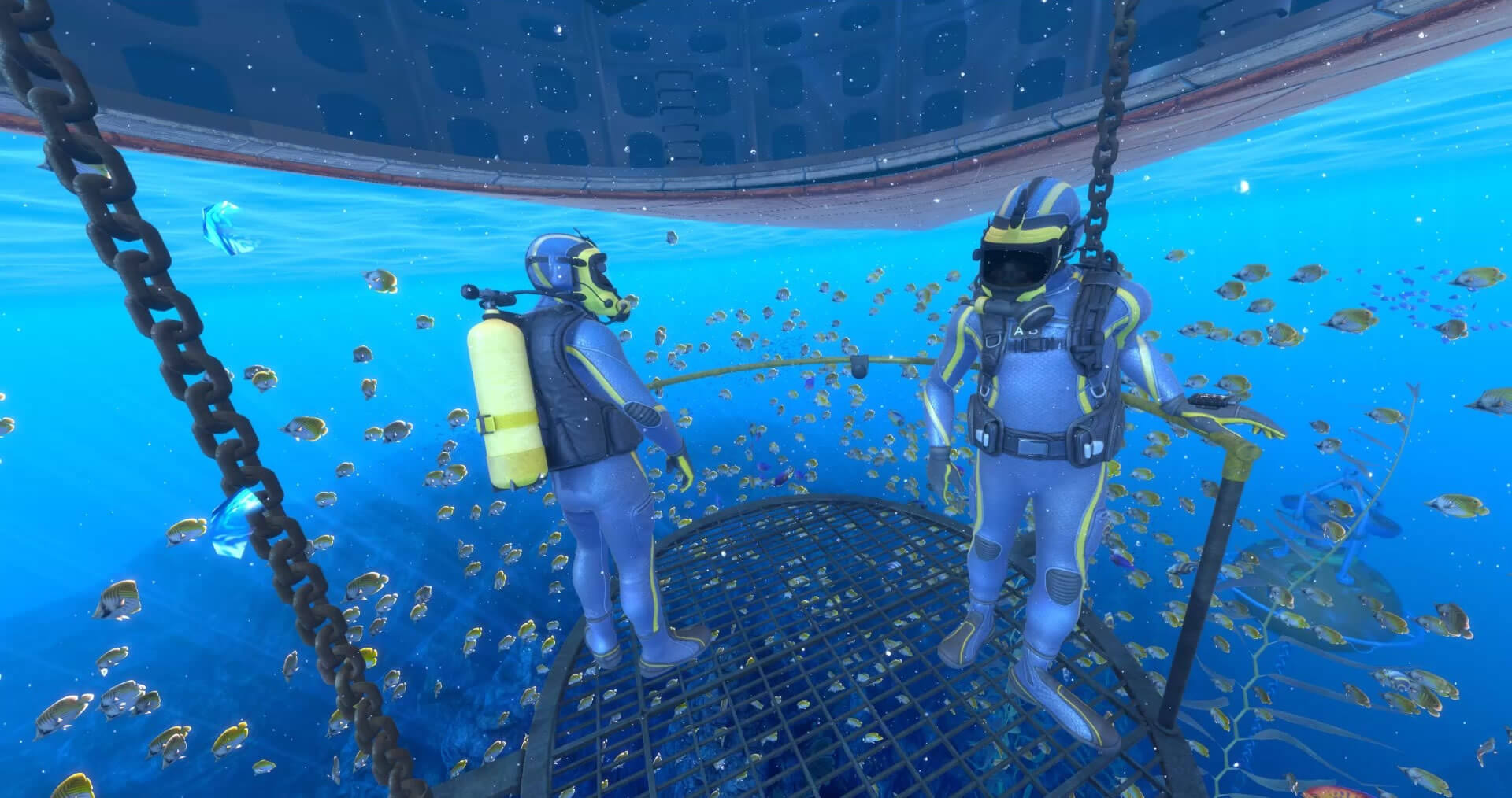 TheBlue : Deep Rescue – Wevr